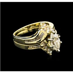 1.83 ctw Diamond Ring - 14KT Yellow Gold