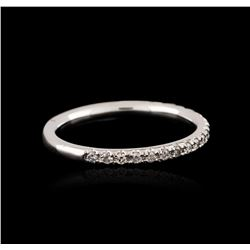 14KT White Gold 0.19 ctw Diamond Ring