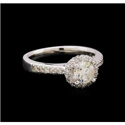 14KT White Gold 1.41 ctw Diamond Ring
