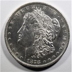 1878 7TF MORGAN SILVER DOLLAR CH BU