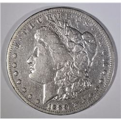 1889-CC MORGAN SILVER DOLLAR VF  KEY DATE