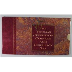 1993 THOMAS JEFFERSON COIN AND CURRENCY  SET IN ORIGINAL PACKAGING