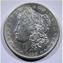 1898-S MORGAN SILVER DOLLAR BU