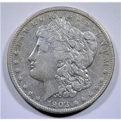 1903-S MORGAN SILVER DOLLAR XF  KEY DATE