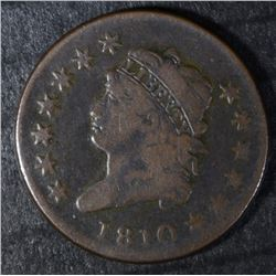 1810 LARGE CENT VG/F