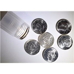 BU ROLL OF 1964 KENNEDY HALF DOLLARS