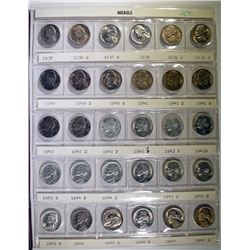 CHOICE BU SET OF JEFFERSON NICKELS: 1938-1964 ALSO 1965-1980 BU & PROOF
