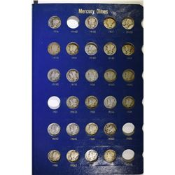 NICE CIRC MERCURY DIME SET: SEE DESCRIPTION