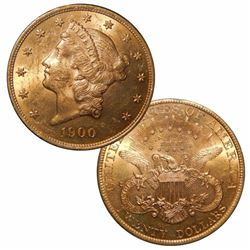 1900 P $ 20 Gold Double Eagle Liberty
