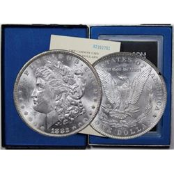 1882 CC GSA Morgan Silver Dollar