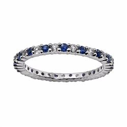 10k White Gold Blue