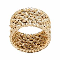 10k Gold Rope Ring