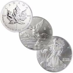 North American Silver Bullion Set- (3 pcs)