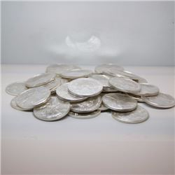 (30) Random Date US SIlver Eagles -