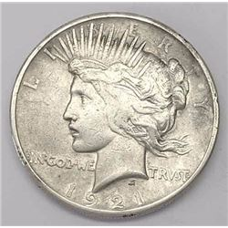 1921 Peace Dollar - First Peace Dollar