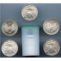 Roll of US Mint Direct Silver Eagles (20)- Random