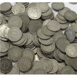 Lot of 100 V Liberty Nickels-