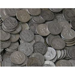 Lot of 100 Various Type 90% Halves