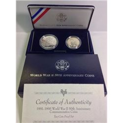 WWII 50th Anniversary Commemorative