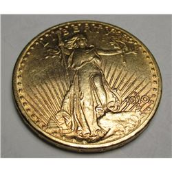 1910 S $20 Gold Saint Gaudens Double Eagle