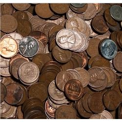 Lot of (1000) Wheat Cents- Mixed - Dates and Grade