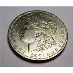 1883 S Key Date Morgan Silver Dollar