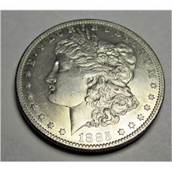 1885 S key Date Morgan Silver Dollar