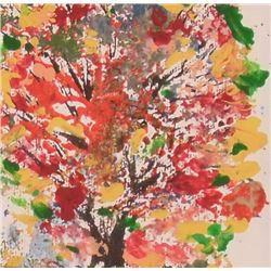 This is lot 57L close-up of like trees within the tree - ceci est le lot 57L comme arbres en l'arbre
