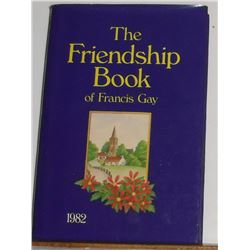 Like a pocket hardcover book The Friendship Book 1982 for 2017 too good to read stories -livre petit
