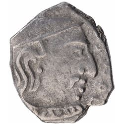 Silver Drachma Coin of Chandragupta II of Gupta Dynasty.