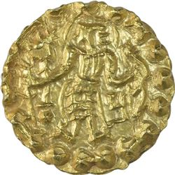 Gold Dinar Coin of Samatata of Post Gupta.