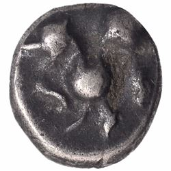 Silver Dramma Coin of Ramachandra of Yadavas of Devagiri.