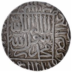 Silver One Rupee Coin of Sher Shah Suri of Gwaliar Mint of Delhi Sultanate.