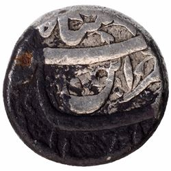 Silver One Rupee Coin of Jahangir of Burhanpur Mint.