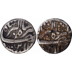 Silver One Rupee Coins of Jahangir of Delhi Mint of Different Months.