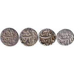 Silver One Rupee Coins of Jahangir of Patna Mint of Different Months.