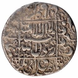 Silver One Rupee Coin of Shahjahan of Ahmadabad Mint.