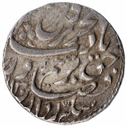 Silver One Rupee Coin of Farrukhsiyar of Ajmer Dar ul khair Mint.