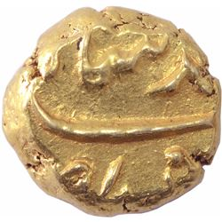 Gold Pagoda Coin of Muhammad Shah of Imtiyazgarh Mint.