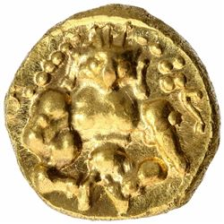 Gold Durgi Pagoda Coin of Nayakas of Chitradurga.