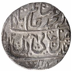 Silver One Rupee Coin of Najibabad Mint of Awadh State.