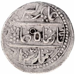 Silver Rupee Coin of Gaj Singh of Baldat Bikanir Mint of Bikanir State.