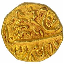 Gold Mohur Coin of Umaid Singh of Jodhpur State.