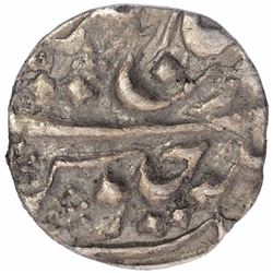 Silver Quarter Rupee Coin of Madan Singh of Kishangarh State.