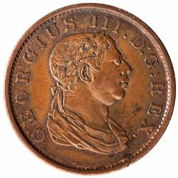 Copper Stiver Coin of Demerara & Essequibo.