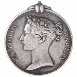 Silver Indian General Service Medal of Queen Victoria.