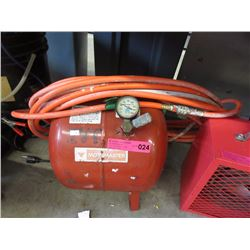MotoMaster Air Tank with Hose