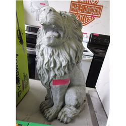 Cement Lawn Ornament Lion