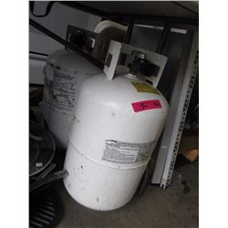 2 Large Propane Tanks