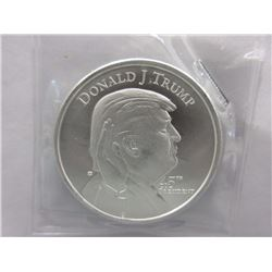 1 Oz. .999 Silver Donald Trump Inauguration Coin